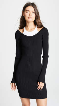Alexander Wang Layered Mini Dress