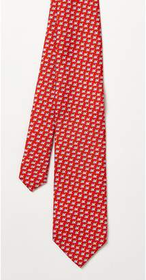 J.Mclaughlin Italian Silk Tie in Snail