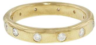 Melissa Joy Manning Diamond 12 Stone Ring - Yellow Gold