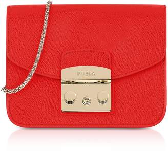 Furla Metropolis Mini Crossbody Bag w/Chain Strap