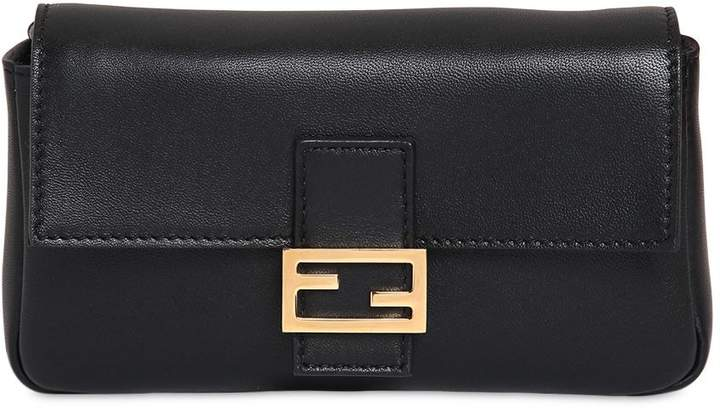 Micro Baguette Nappa Leather Bag