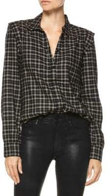 Paige Alia Plaid Shirt