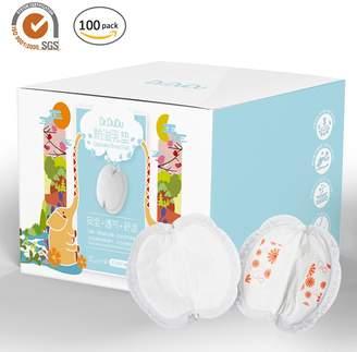 Per Soft Breathable Disposable Nursing Pads Anti Milk Overflow Breastfeeding Pads for Pregnant &Postpartum Women