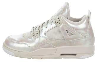 Nike Jordan Kids' 4 Retro Pearl Sneakers
