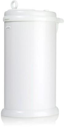 Baby Essentials Ubbi Stainless Steel Diaper Pail - White