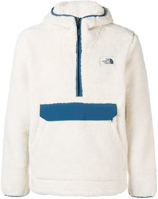 The North Face zipped up sweatshirt