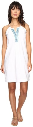 Tommy Bahama - Embellished Linen Short Dresss Women's Dress $98 thestylecure.com