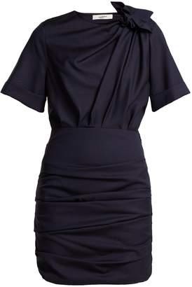 Etoile Isabel Marant Oria gathered cotton mini dress