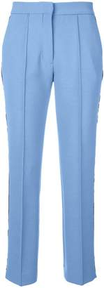 Victoria Beckham Victoria side stripe cropped trousers