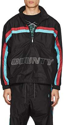 "Marcelo Burlon County of Milan Men's ""County"" Striped Track Jacket"