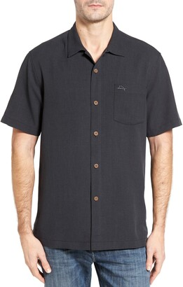 fd574651 Tommy Bahama Royal Bermuda Silk Blend Camp Shirt
