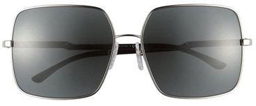 Stella McCartney Eyewear Square Aviator Sunglasses