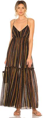 Zimmermann Tali Tiered Maxi Dress