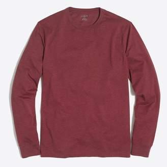 J.Crew Factory J. Crew Mercantile Heathered long-sleeve T-shirt