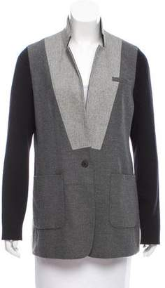 Yigal Azrouel Wool Colorblock Blazer