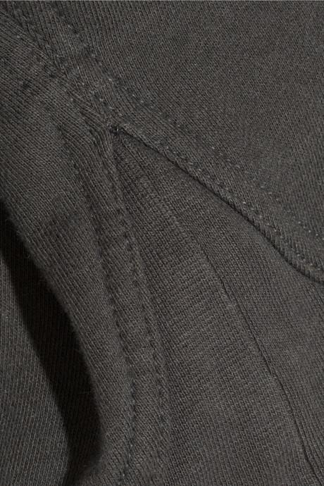 Alexander Wang Cotton-blend fleece sweatshirt