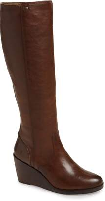Frye Emma Knee High Wedge Boot