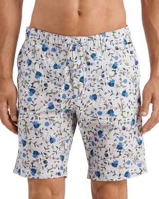 Hanro Luca Floral-Print Regular Fit Shorts