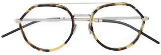 Christian Dior round framed glasses