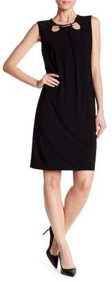 Nine West Cutout Jersey Shift Dress