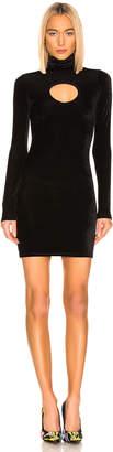 Vetements Cut Out Body Dress in Black | FWRD