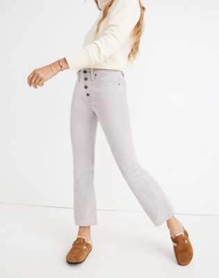 Cali Demi-Boot Jeans: Corduroy Edition