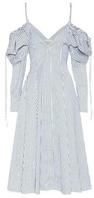 J.W.Anderson Exclusive to mytheresa.com – off-the-shoulder cotton dress