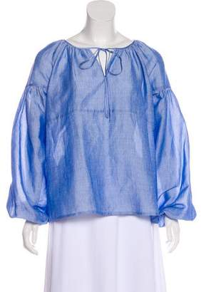 Co Oversize Long Sleeve Blouse