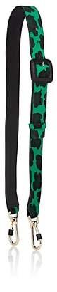 Fontana Milano Women's Calf Hair & Leather Shoulder Strap - Green, Black