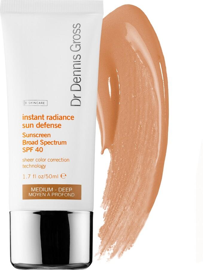 Dr. Dennis Gross Skincare - Instant Radiance Sun Defense Sunscreen Broad Spectrum SPF 40