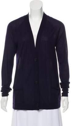 Isabel Marant Long Sleeve Cashmere Cardigan