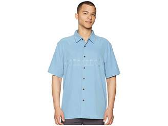 Quiksilver Waterman Tahiti Palms 4 Traditional Polynosic Woven Top