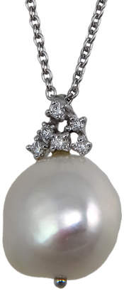 Damiani Bliss By Galatea 18K Diamond & 9.31Mm Pearl Necklace
