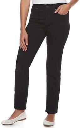 Croft & Barrow Women's Classic Stretch Straight-Leg Jeans