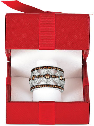 Le Vian Chocolatier® Chocolate Deco EstateTM Diamond Ring (1-1/4 ct. t.w.) in 14k White Gold $4,400 thestylecure.com