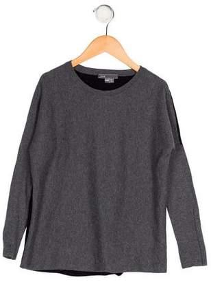 Vince Girls' Knit Long Sleeve Sweater