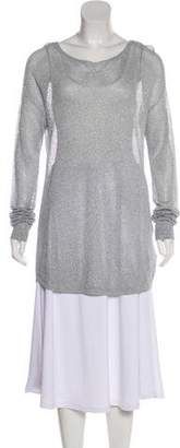 MICHAEL Michael Kors Metallic Knit Tunic
