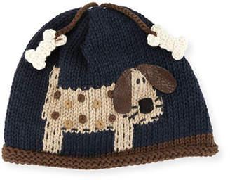 Artwalk Art Walk Woof Woof Knit Baby Hat, Blue