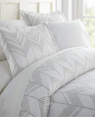 Ienjoy Home Home Collection Premium Ultra Soft Alps Chevron Pattern 3 Piece Duvet Cover Set Bedding