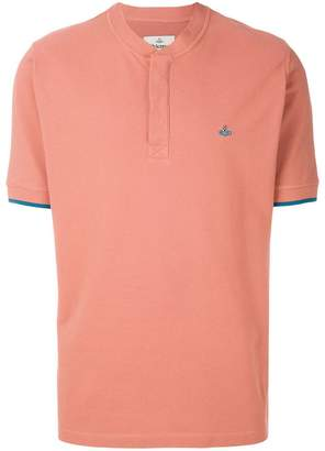 Vivienne Westwood henley neck polo shirt