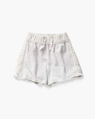 Splendid Girl French Terry Short with Lace