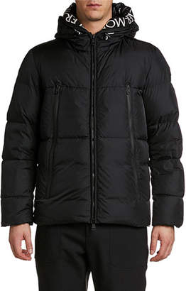 Moncler Men's Montcla Hooded Puffer Coat