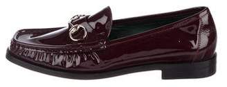 Gucci Horsebit Patent Leather Loafers