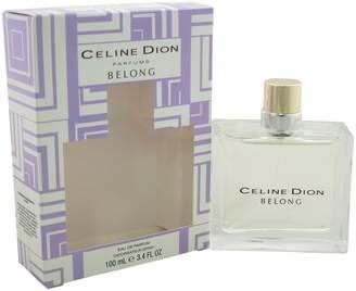 Celine Dion Belong for Women Eau De Parfum Spray 3.4 Ounces