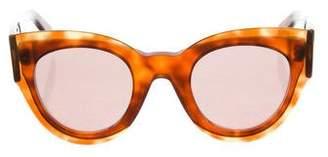 Celine Tortoiseshell Marta Sunglasses w/ Tags