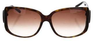 Chopard Embellished Tortoiseshell Sunglasses
