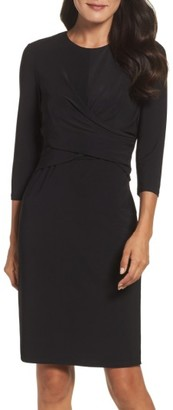 Women's Eliza J Jersey Sheath Dress $118 thestylecure.com