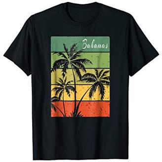 Bahamas Tropical Beach Sunset Vintage T-Shirt Gift