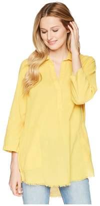 Lilla P 3/4 Sleeve Shirt Tunic Women's Blouse