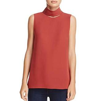 Theory Women's Slit Collar Top
